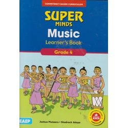 EAEP- Super Minds Music Learner's Book Grade 4 (Approved)
