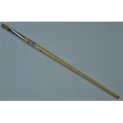 Oil Paint brush Long handle flat 579/842-9