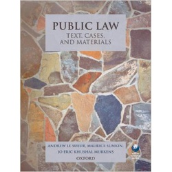 Public Law Text, Cases and Materials