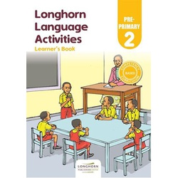LANGUAGE ACTIVITIES  LEARNER'S BOOK PRE-PRIMARY 2
