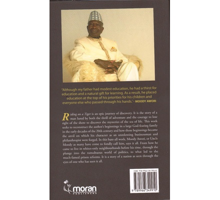 Moody Awori: Riding on a Tiger (Hard Back version) Autobiography