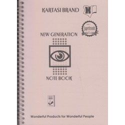 Note Book A6 Ref476 New Generation