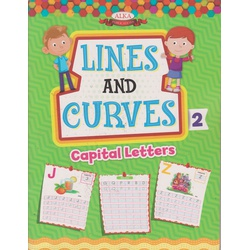 Alka Lines and Curves Pattern writing 2 (Capital letters)