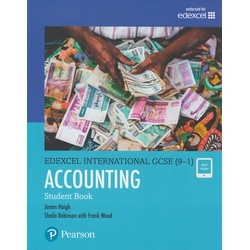 Edexcel International GCSE (9-1) Accounting Student Book