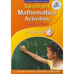 Spotlight Mathematical Activities Pre-Primary 2 (Approved)