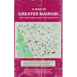 Map of Greater Nairobi with Street