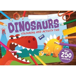 Dinosaurs Colouring and Activity Pad (Igloo)(A3 size)