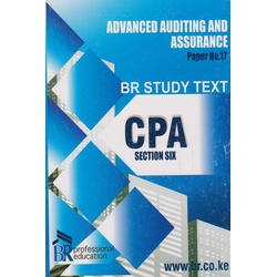 CPA Section 6 PP no. 17 Adv Audit Assurance BR Study text