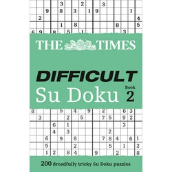 Times Difficult Sudoku Book 2