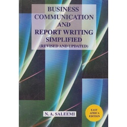 Business Communication and Report writing simplified (Revised and Updated)
