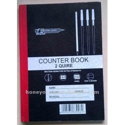 Counter Book A4 2 Quire Square 244