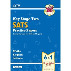KS2 Complete SATS Practice Papers Pack: Science, Maths & English (for the 2021 tests) - Pack 2
