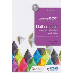 Cambridge Maths Core and Extended 4th Edition (Hodder)