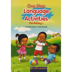 One planet One step Language activities Pre-Primary 1