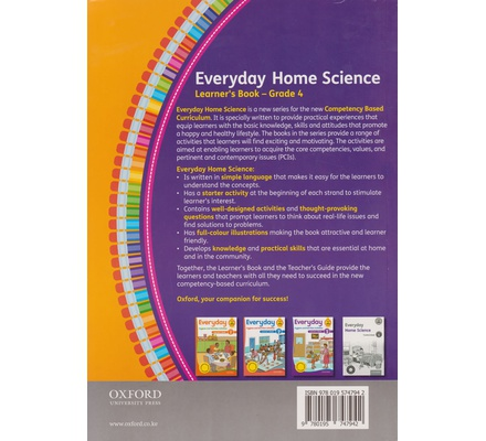 OUP Everyday Home Science Grade 4 (Approved)