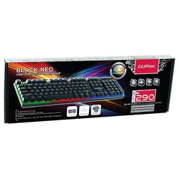 Cliptec USB Led Illuminated Keyboard Cl-Kbd-Rzk290