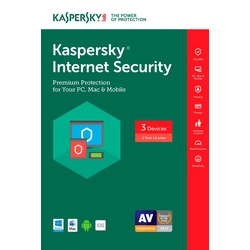 Kaspersky Internet Security 3 +1 User 2017