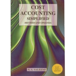 Cost Accounting Simplified-Saleemi