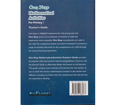 One Planet One step Mathematical PP1 Trs (Appr)