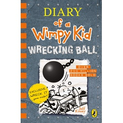 Diary of a Wimpy Kid: Wrecking Ball (Hard Back)