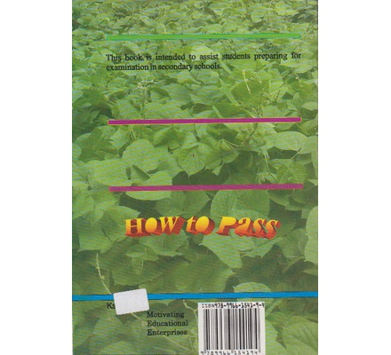 How to Pass Agriculture Questions & Answers Form 1&2 | Books, Stationery,  Computers, Laptops and more  Buy online and get free delivery on orders