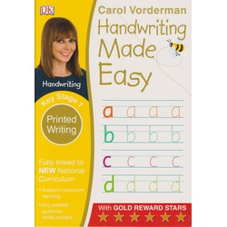 DK-Handwriting made easy Key Stage 1 Printed writing