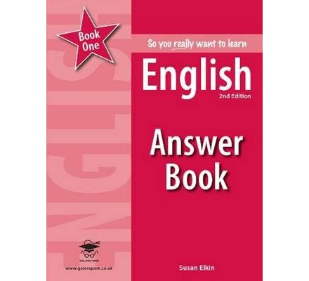 So You Really Want To Learn English Book 1 Answer Book 2nd