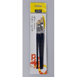 Pebeo Brush 697199 3s White flat  6/10/14