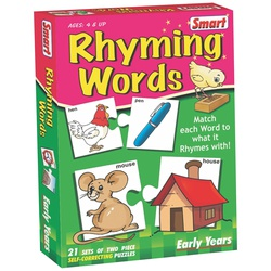 Smart Puzzle Rhyming Words Puzzle Set 01022