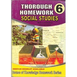 Thorough Homework Social Studies 6