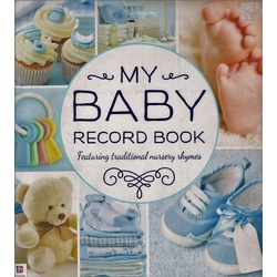 My Baby record book: Rhymes Blue (Hinkler)