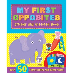 My First Opposites Sticker and Activity Book (Igloo)