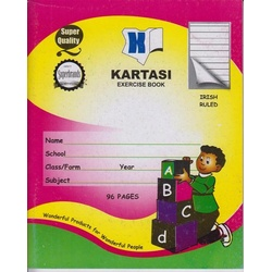 Exercise books 96 pages Irish Manila Cover Kartasi Brand