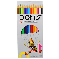 Doms Colour Pencils 12s F/S 3445