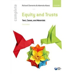 Complete Equity and Trusts Text, Cases,& mater 3ED