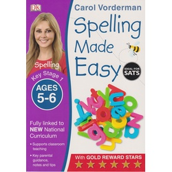 DK-Key Stage 1 Spelling Made Easy Ages 5-6