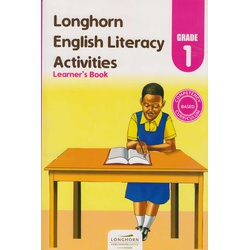 Longhorn English Literacy Activities Learner's Book Grade 1