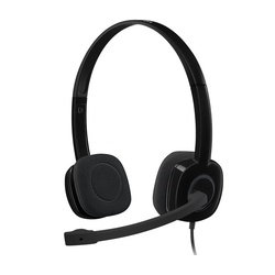 Zoom - Logitech Stereo Headset H151 - Black (3.5 MM JACK)