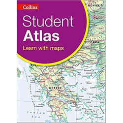 COLLINS STUDENT ATLAS; LEARN WITH MAPS