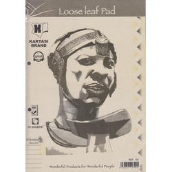 Loose Leaf Pad Ruled Ref133