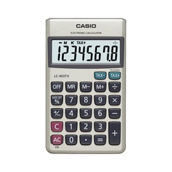 LC-403TV-W Casio Calculator