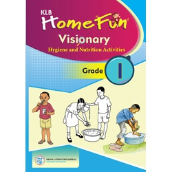 KLB: Home Fun Visionary Hygiene and Nutrition Activities Grade 1