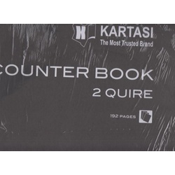 Counter Book A3 2 Quire