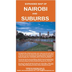 Expanded Map of Nairobi & Suburbs