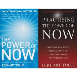 The Power of Now, A Guide to spiritual enlightenment (Practising the Power of Now.Essential Teachings,Meditations and Exercises from The power of now).