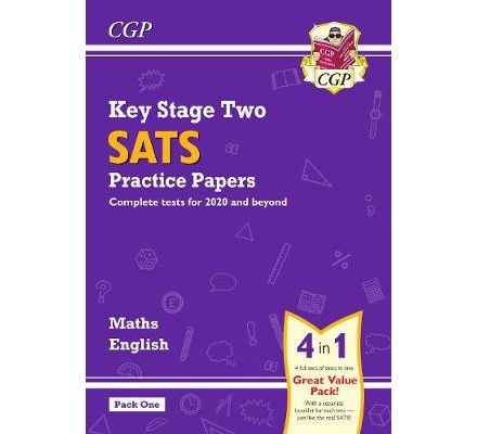 KS2 Maths and English SATS Practice Papers Pack (for the 2021 tests) - Pack 1