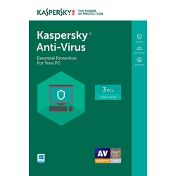 Kaspersky Anti-Virus 3+1 User 2017