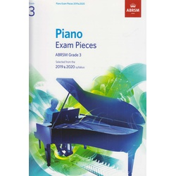 Piano Exam Pieces ABRSM Grade 3 2019 and 2020
