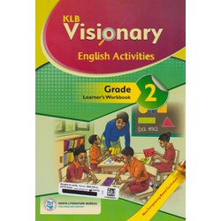 KLB Visionary English Activities Grade 2  Learner's Workbook (Approved)