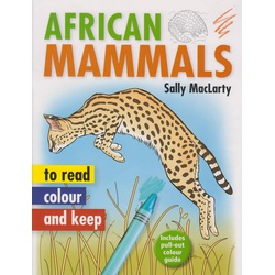 African Mammals to Read Colour and Keep